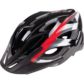Alpina Seheos Helmet black-red-white